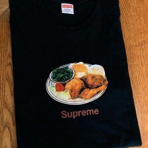 Supreme Chicken Dinner Tee Black Size XL